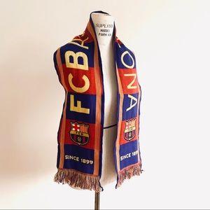 FCB Barcelona Spain Soccer Football Souvenir Scarf